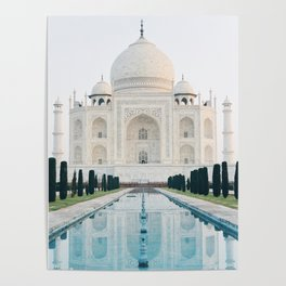 Taj Mahal at Sunrise Poster