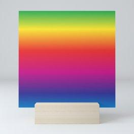 Rainbow Gradient Mini Art Print