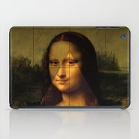 mona lisa iPad Cases featuring MONA LISA by Ancient