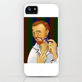 Vincent van Gogh Loves Shaving iPhone Case