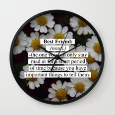 Best Friend: Wall Clock