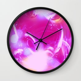 Love & Magic Wall Clock