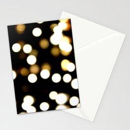 scattered light Stationery Cards