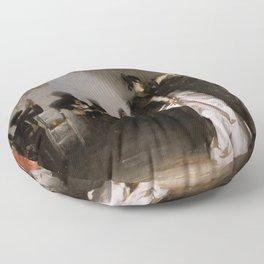 John Singer Sargent's El Jaleo Floor Pillow