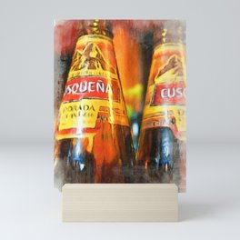 Cusquena Premium Lager Mini Art Print