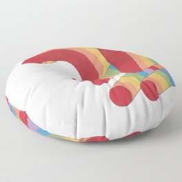 rainbow?! Floor Pillow