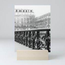 Classic Paris - Black and White Travel Photography Mini Art Print