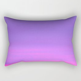 Pink and purple sky a winter morning Rectangular Pillow