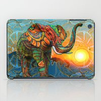 three of the possessed iPad Cases featuring Elephant's Dream by Waelad Akadan