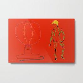 Its Electric Metal Print