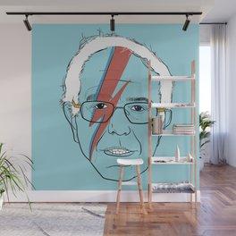 Blue Bernie Sanders 2016 Wall Mural