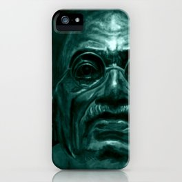 Mahatma Gandhi - quote iPhone Case