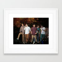 1d Framed Art Prints featuring 1d by AmandaSmentkowskiArt
