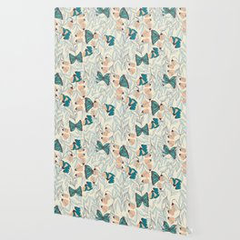 Monarch garden 003 Wallpaper