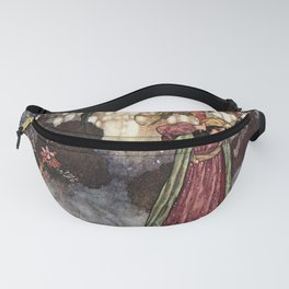 Beauty by Edmund Dulac Fanny Pack
