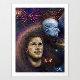 """Damn Proud You're My Boy"" Guardians of the Galaxy Art Print"
