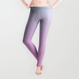 UNLIKE OTHER - Minimal Plain Soft Mood Color Blend Prints Leggings