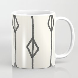 Hand-drawn diamond pattern Coffee Mug