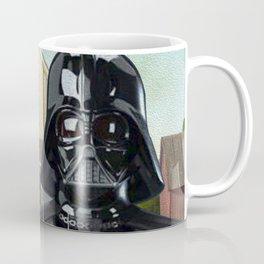 Darth Vader in American Gothic Coffee Mug
