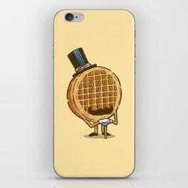 The Fancy Waffle iPhone Skin