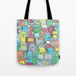 Robot Party Tote Bag