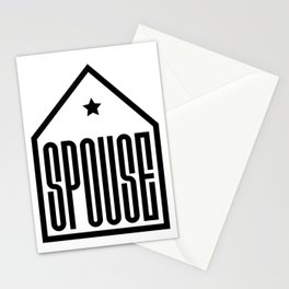 Spouse in the house Stationery Cards