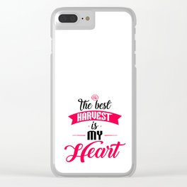 The Best Harvest Clear iPhone Case