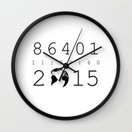 86401 Leap Second 2015 Wall Clock