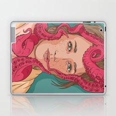 Tentacle illustration Laptop & iPad Skin