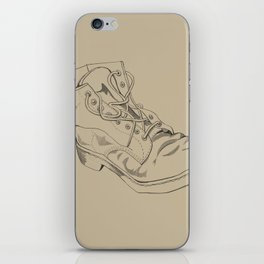 Art Study (the boot part 2) iPhone Skin