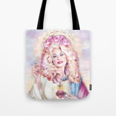 Saint Dolly Parton Tote Bag