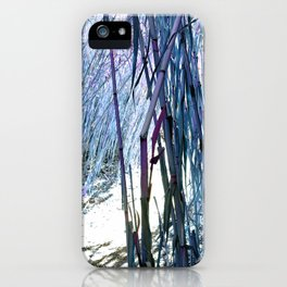 Violet Hallway of Nature iPhone Case