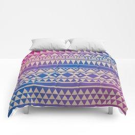 Aztec Pattern No. 15 Comforters