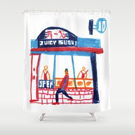 Juicy Sushi Shower Curtain