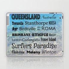 Queensland Poster Laptop & iPad Skin