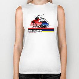 California Wave Biker Tank