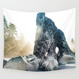 Protector Of Ruby Beach Wall Tapestry
