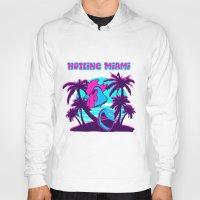 hotline miami Hoodies featuring Hotline Miami  by noxioussomnium