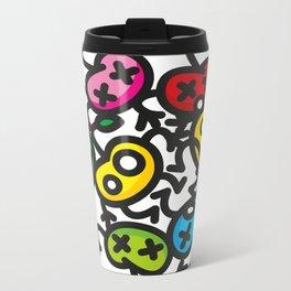 apple color crazy Metal Travel Mug