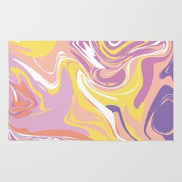 Abstract Marble Pattern 5 Rug