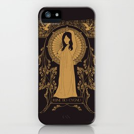 Reine des Cygnes (Gold) iPhone Case