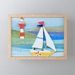 Sail Away Framed Mini Art Print
