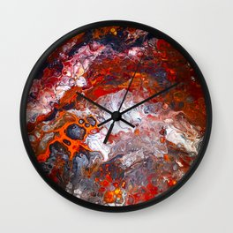 Inferno No. 1 Wall Clock