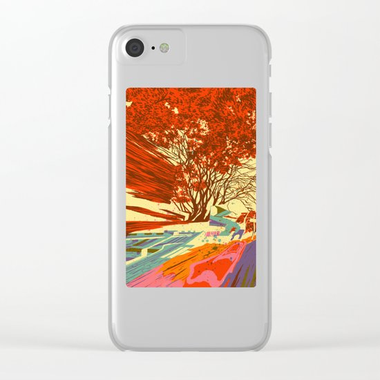 A bird never seen before - Fortuna series Clear iPhone Case