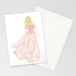 The Pink Dress Stationery Cards