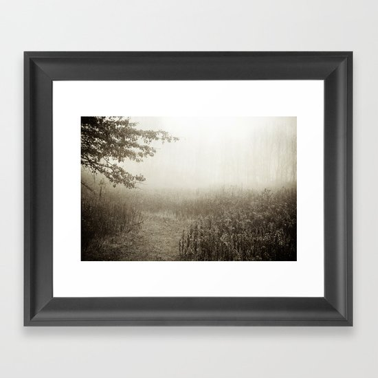 Dreaming in B&W Framed Art Print