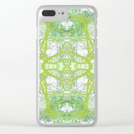 279 = Abstract Tree design Clear iPhone Case