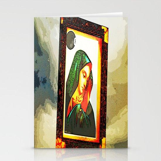 8 ball Mary Stationery Cards