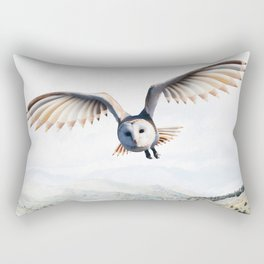 Pencil Owl Rectangular Pillow
