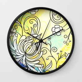 Lovely March Day Wall Clock